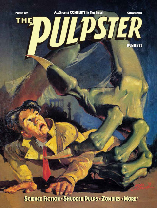"Publication design: ""The Pulpster"" #23"