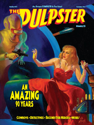 "Publication design: ""The Pulpster"" #25"