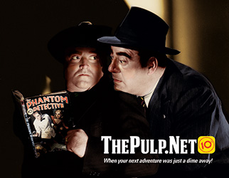 Promotional design: ThePulp.Net postcard